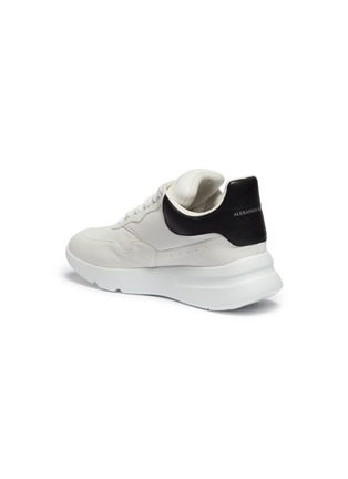 Detail View - Click To Enlarge - Alexander McQueen - 'Larry' oversized outsole leather sneakers