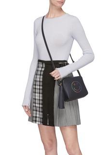 Anya Hindmarch 'Rainbow Wink' leather crossbody bag