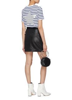 Etre Cecile  Glitter star print stripe T-shirt