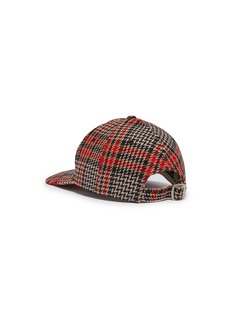 Gucci x Major League Baseball 'NY Yankees™' logo appliqué houndstooth baseball cap