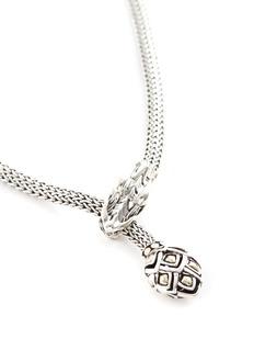 John Hardy 'Legends Naga' gold silver necklace