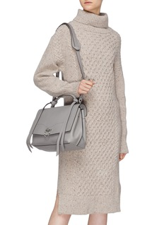 Rebecca Minkoff 'Jean' metal ring leather satchel bag