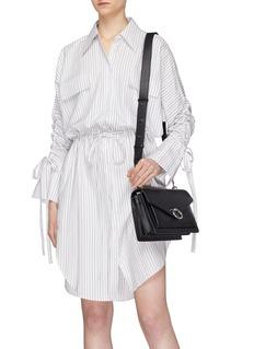 Rebecca Minkoff 'Jean' metal ring closure medium leather shoulder bag