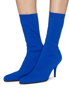 Balenciaga Stretch rib knit sock boots