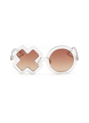 Main View - Click To Enlarge - Sons + Daughters - 'XO' frame acetate kids sunglasses