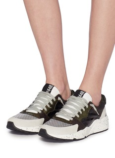 P448 Patchwork sneakers