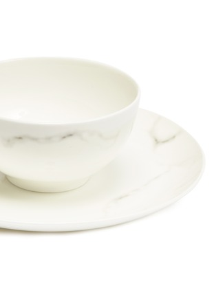 Detail View - Click To Enlarge - LANE CRAWFORD - x Production Q 6-piece dining set –Marble-effect