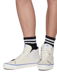 Vans 'Sk8-Hi Lx' leather panel canvas sneakers