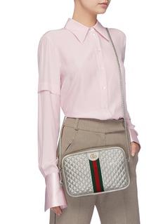 Gucci Matelassé leather small shoulder bag