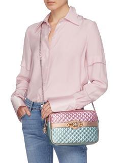 Gucci Colourblock matelassé leather small crossbody bag