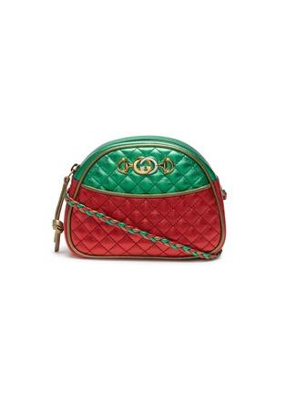 b7ad8bd0a1c Gucci Colourblock matelassé leather mini crossbody bag