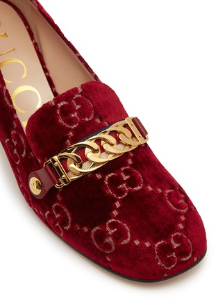 d586853f746a Detail View - Click To Enlarge - Gucci -  Sylvie  GG logo embroidered chain