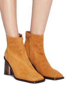 Rejina Pyo 'Alana' sculptural heel suede ankle boots