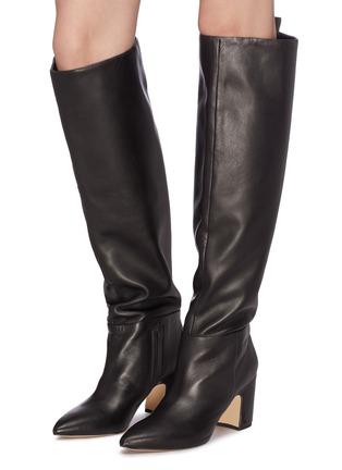 Sam Edelman Hutton Leather Knee High Boots Women