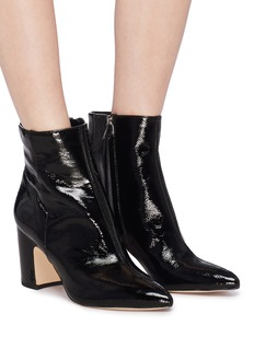 Sam Edelman 'Hilty' crinkled patent leather ankle boots