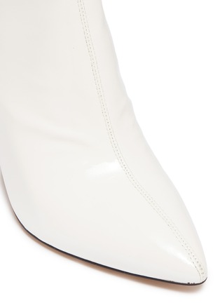 8352b72f8abc38 ... Detail View - Click To Enlarge - Sam Edelman - Hilty crinkled patent  leather later 592c3 ...