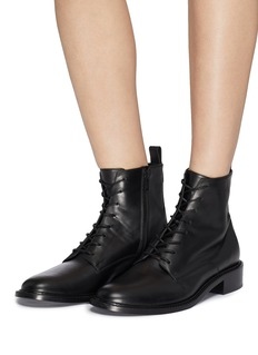 Vince 'Cabria' leather combat boots