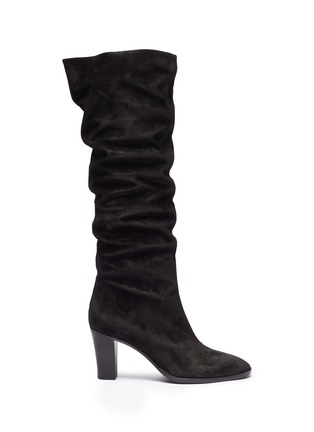 Main View - Click To Enlarge - Vince - 'Casper' suede knee high boots