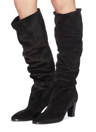 Figure View - Click To Enlarge - Vince - 'Casper' suede knee high boots