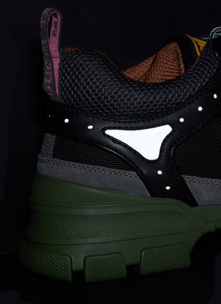 - GUCCI - 'Flashtrek' patchwork sneakers