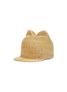 Maison Michel 'Jamie' cat ear wheat straw cap