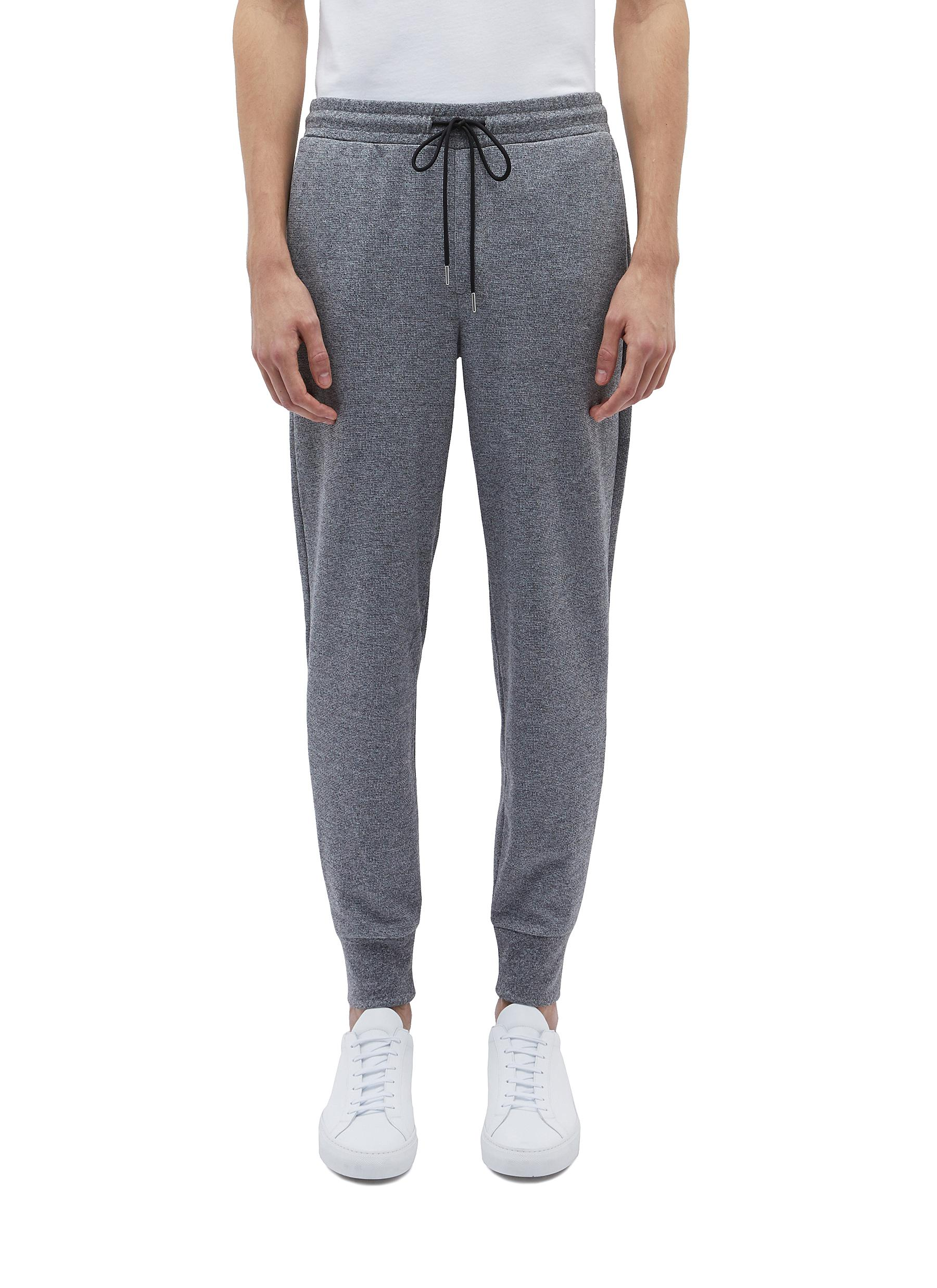 8198490aa617 Main View - Click To Enlarge - Theory -  Essential  waffle knit sweatpants