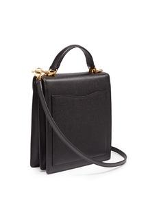 Mark Cross 'Uptown' saffiano leather crossbody box bag