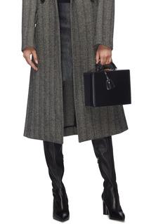 Mark Cross 'Grace Large Box' calfskin leather trunk