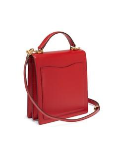 Mark Cross 'Uptown' leather crossbody box bag