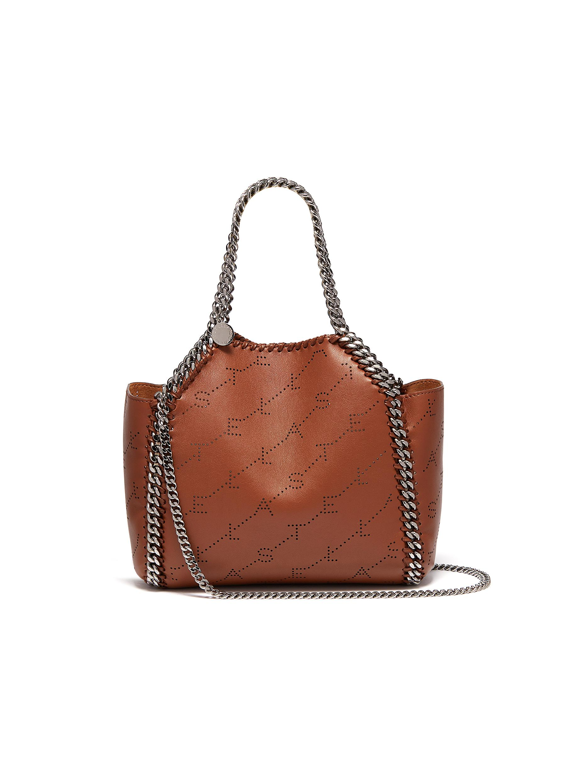 fb83930cba9a Main View - Click To Enlarge - Stella McCartney -  Falabella  reversible  perforated logo