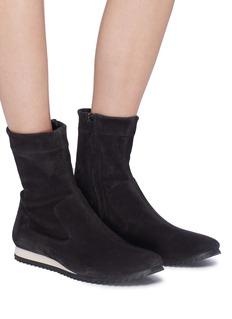 Pedro García 'Cille' stretch suede boots