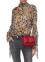 ... SAINT LAURENT -  Vicky  small matelassé leather crossbody bag ... dff72b244ee8d