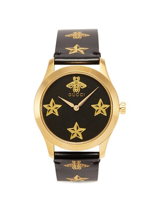 Main View - Click To Enlarge - GUCCI - 'G-Timeless' bee star print 38mm watch