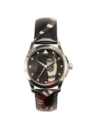 Main View - Click To Enlarge - GUCCI - 'Le Marché Des Merveilles' Kingsnake print 38mm watch