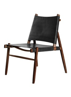 Wright & Smith Easy chair – Leather/Walnut