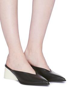 Mercedes Castillo 'Kaz' leather mules