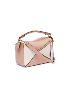 Loewe 'Puzzle' colourblock small leather bag