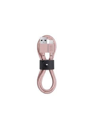 Main View - Click To Enlarge - NATIVE UNION - BELT lightning charging cable – Rose