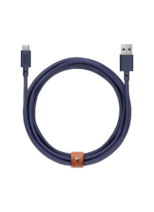 Main View - Click To Enlarge - NATIVE UNION - BELT extra long USB-A to USB-C charging cable – Marine
