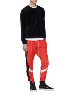 Daniel Patrick Stripe outseam track pants