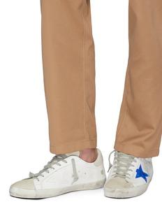 Golden Goose 'Superstar' slogan print leather sneakers
