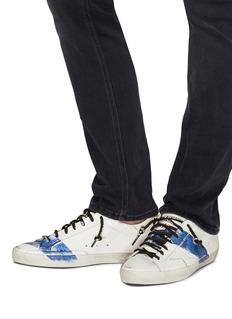Golden Goose 'Superstar' stripe paint stroke leather sneakers