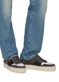 Axel Arigato Stripe mesh panel suede sneakers