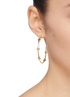 J.HARDYMENT 'Multi Long Face 45mm' hoop earrings