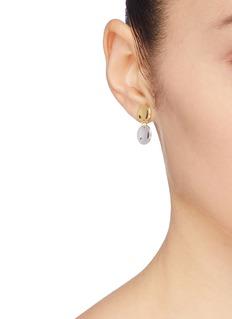 J.HARDYMENT 'Small Double Thumbprint' drop earrings