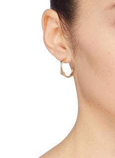 J.HARDYMENT 'Single Long Face 17mm' hoop earrings