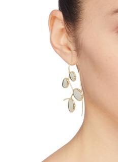 J.HARDYMENT 'Curlicue' drop hook earrings