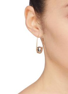 J.HARDYMENT 'Hook and Ball' drop earrings
