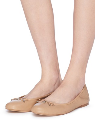 42510ffcd9f2 Figure View - Click To Enlarge - SAM EDELMAN - 'Felicia' leather ballet  flats