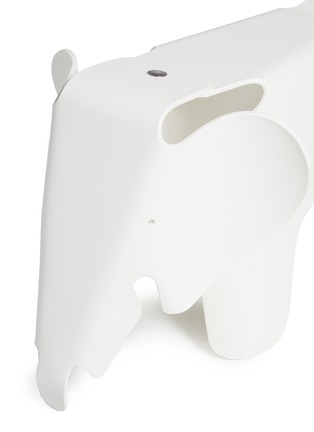 Detail View - Click To Enlarge - Vitra - Eames Elephant stool – White